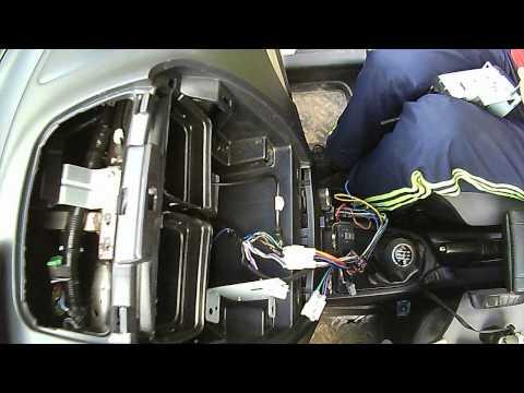 Замена магнитолы в FAW V5 (2)