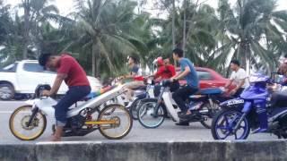 getlinkyoutube.com-Raya Kedua 2016 Terengganu , Pantai Kelulut #PengMotor