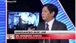 "Sen. Bongbong Marcos - TV interview with Luchi Cruz-Valdes on ""Reaksyon"" (Part 2)"