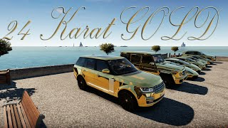 getlinkyoutube.com-Forza Horizon 2 - ARAB Cruise: 24 KARAT GOLD!