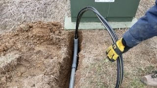 getlinkyoutube.com-DIY Pulling Buriable Electrical through PVC
