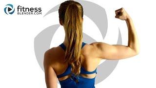 getlinkyoutube.com-10 Minute No Equipment Upper Body Workout - Complete Upper Body Workout Without Weights