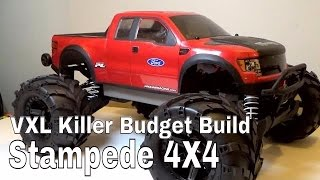 getlinkyoutube.com-Traxxas Stampede 4x4 VXL Killer Build On a Budget