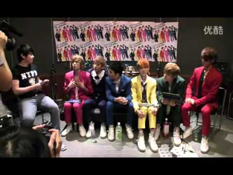 110731 Koon TV - Teen Top Interview (Part 1/6) [Chocolat]