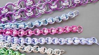 getlinkyoutube.com-Fabriquer des bijoux en CHAÎNE MAILLE