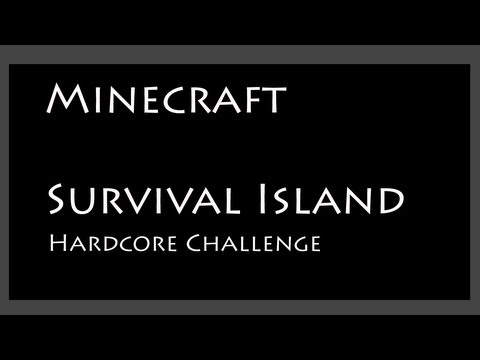 Minecraft Survival Island Challenge - Part 2 of 3  - First Night Monster Raid (working v1.5.2 seed)