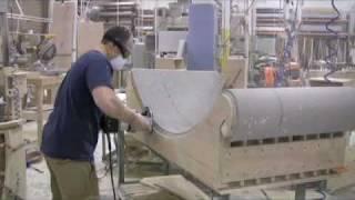 getlinkyoutube.com-LG Hausys Solid Surface    Nubicle Fabrication
