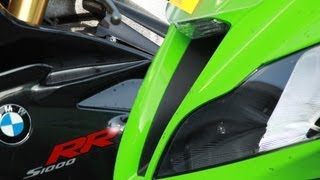 "getlinkyoutube.com-Kawasaki ZX10R vs BMW S1000RR ""On the test bench"""