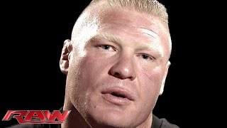 getlinkyoutube.com-Brock Lesnar addresses his Night of Champions rematch against John Cena: Raw, Aug. 25, 2014