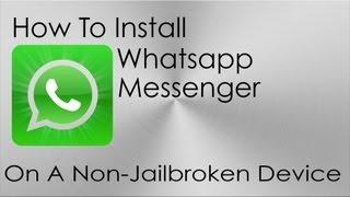 getlinkyoutube.com-How To Install WhatsApp On iPod Touch And iPad W/O JB