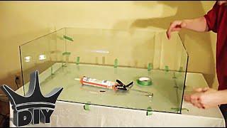 getlinkyoutube.com-HOW TO: Build A Glass Aquarium TUTORIAL