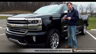 getlinkyoutube.com-Review: 2016 Chevrolet Silverado High Country