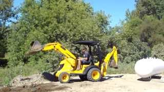 getlinkyoutube.com-JCB Mini CX Backhoe-Loader