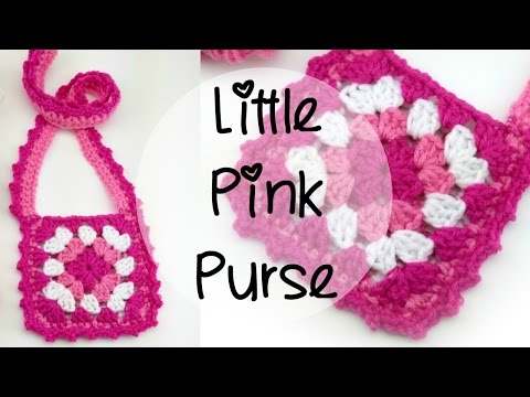 How To Crochet the Little Pink Purse, Episode 373