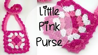 getlinkyoutube.com-How To Crochet the Little Pink Purse, Episode 373