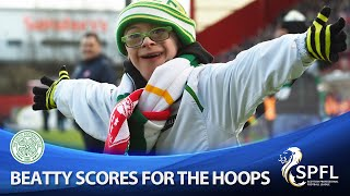 getlinkyoutube.com-Watch amazing moment as Jay Beatty scores penalty for Celtic!