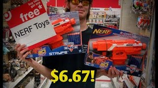getlinkyoutube.com-Brand New Nerf Stryfe's for Under $7 !!!