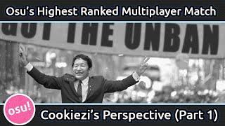 getlinkyoutube.com-Osu's Highest Ranked Multiplayer Match (Cookiezi's Perspective) Part 1