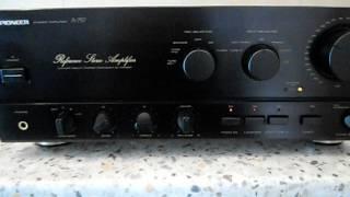 getlinkyoutube.com-Pioneer A-757 Reference Stereo Amplifier