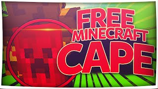 MINECRAFT MINECON & OPTIFINE CAPE FOR FREE! 100% WORKS 2016 - ALL VERSIONS 1.7 + 1.8 + 1.9