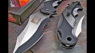 getlinkyoutube.com-Mtech Xtreme tactical pocket knife