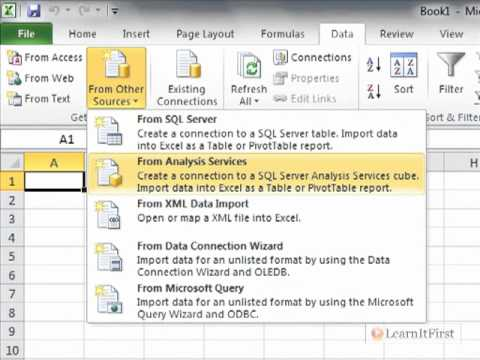 Excel 2010: Understanding SSAS and How to Connect to Analysis Services