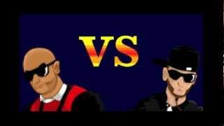 Lafouine vs Booba (Street Fighter)