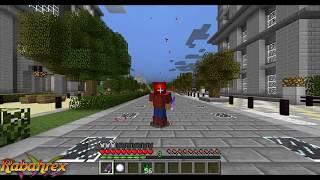 getlinkyoutube.com-Minecraft: SPIDERMAN - Defiende la Ciudad SIN MODS! En Minecraft Vanilla