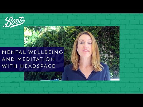 Boots Live Well Panel | Mental Wellbeing and Meditation with Headspace | Boots UK