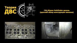getlinkyoutube.com-Теория ДВС: ГБЦ Nissan Pathfinder дизель (краткий обзор конструкции каналов)