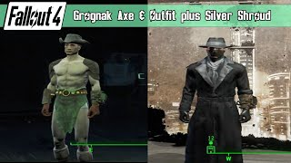 getlinkyoutube.com-Fallout 4 - Grognak Axe & Outfit plus The Silver Shroud Outfit Guide