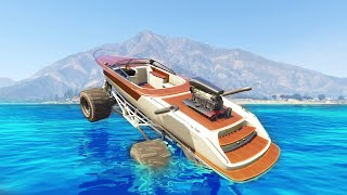 getlinkyoutube.com-DRIVING ON WATER MOD! (GTA 5 Mods Funny Moments)