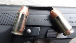 getlinkyoutube.com-Speer Gold Dot .380 ACP 90 gr Ammo Test