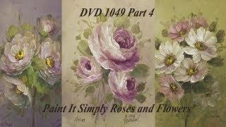 getlinkyoutube.com-Beginning Rose Painting with Heritage Acrylics DVD1049