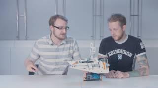 Snowspeeder - LEGO Star Wars - Designer Videos 75144