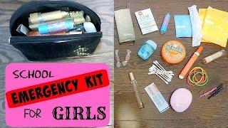 getlinkyoutube.com-DIY Emergency School Kit For Girls || Back To School