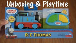 Thomas & Friends: Unboxing RC Thomas the Tank Engine Toy w/ Maya :-)