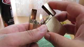 getlinkyoutube.com-How to fix/service/repair gas leak on S. T. Dupont Ligne/Line 1 BS lighters(seals-replacement)