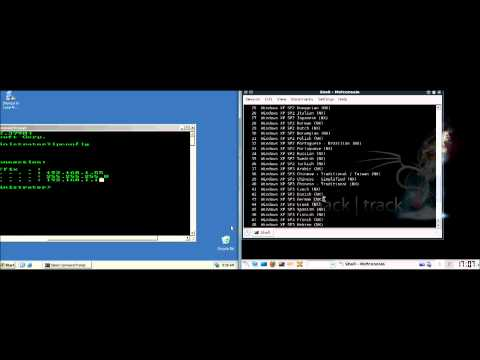 Windows via MetaSploit hacken [German/Deutsch]