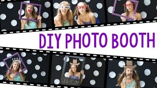 getlinkyoutube.com-How To DIY Photo Booth