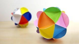 Paper Craft Fancy Ball / ลูกบอลกระดาษแฟนซี