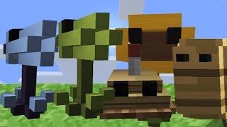 getlinkyoutube.com-Plants Vs Zombies Minecraft Nuevo Modo de Desafió