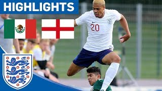 Mexico 0-0 England U21 | Young Lions Showed Promise But Held to a Draw | Highlights