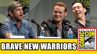 getlinkyoutube.com-Brave New Warriors Comic Con Panel - Sam Heughan, Zachary Levi, Kevin Durand, Robert Kazinsky