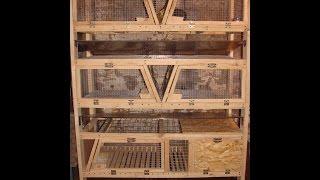 getlinkyoutube.com-Новая клетка, кролики, клетка для кроликов