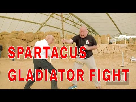 SPARTACUS GLADIATOR FIGHT...