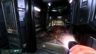 Doom 3: RoE Walkthrough Part 7 HD - Phobos Labs - Sector 1: Teleportation