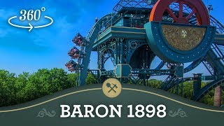 getlinkyoutube.com-Baron 1898 in 360° - Efteling Onride
