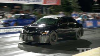 CRAZY-FAST-4-cylinders-Mitsubishi-Evolution-MADNESS width=