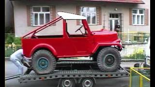 Stavba vozu Tatra 803 MoR